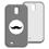 Coque Samsung Galaxy S4 - Chevrons Blancs 23858 thumb