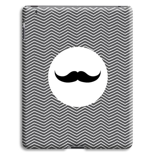 Coque iPad 2 - Chevrons Blancs 23861