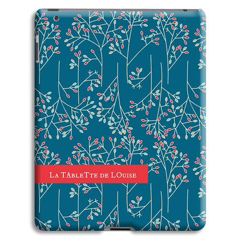 Coque iPad 2 - Fleurs de Noël 23876
