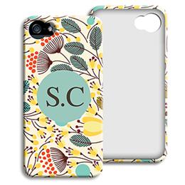 Accessoire tendance Iphone 5/5s  - Fleurs jaunes - 1