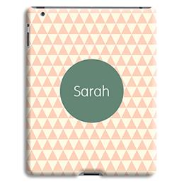 Coque iPad 2 - Chevrons Roses - 1
