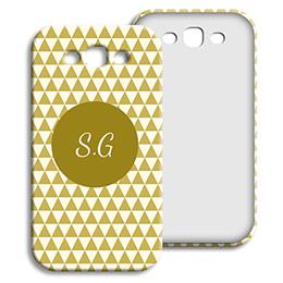 Coque Samsung Galaxy S3 - Chevrons d' automne - 1
