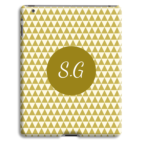 Coque iPad 2 - Chevrons d' automne 23988