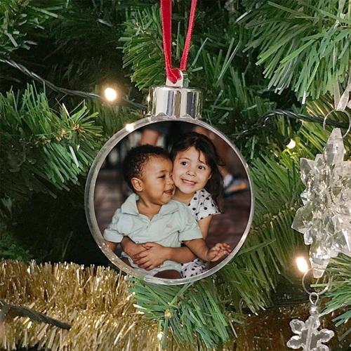 Décoration pour sapin de noel  - Boule de Noël Photo 24005