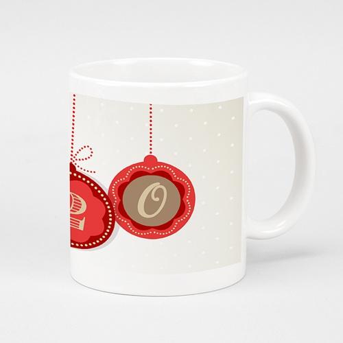 Mug Personnalisé - Boules décorées 24008