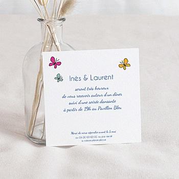 Cartons d'Invitation Personnalisés - Papa et Maman - 1