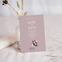 Save-The-Date - A bicyclette 24532