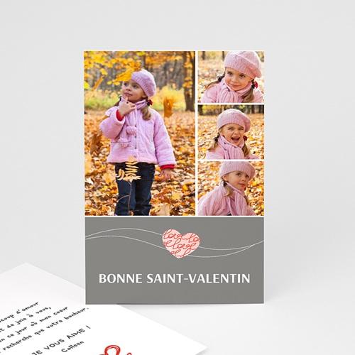 Cartes Saint-Valentin - Amour d'enfant 2480