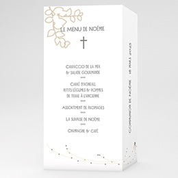 Menu de Communion - Esprit Communion - 1