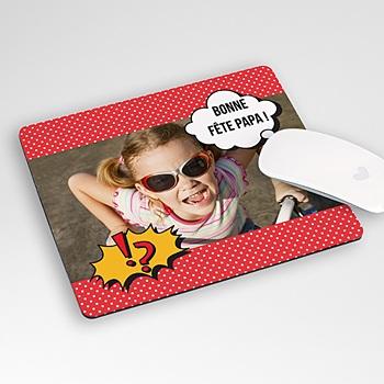 Tapis de souris personnalisé - Super Papa - 1