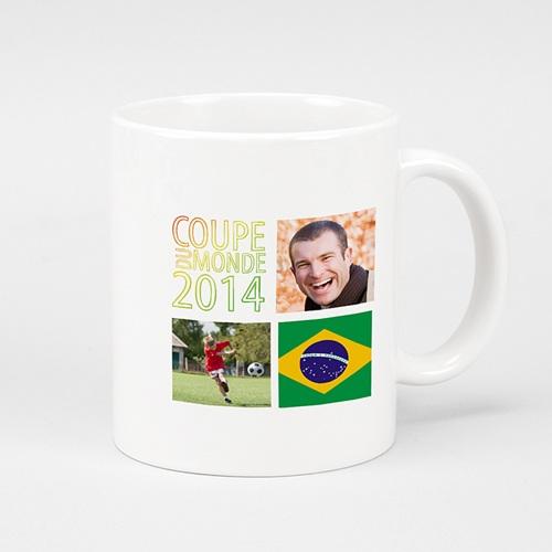 Mug Personnalisé - Bonne fête papa Brésil 24919