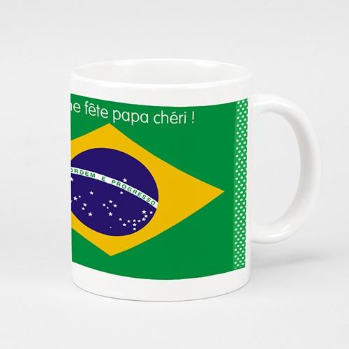 Mug Personnalisé - Brésil 2014 24920