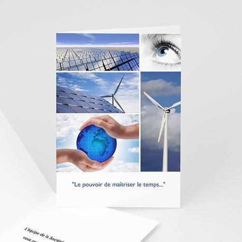 Cartes de Voeux Professionnels - Energie nouvelle 2518