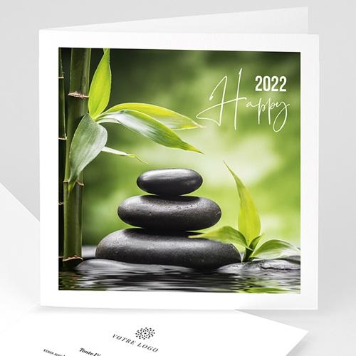 Cartes de Voeux Professionnels - Nature et Zen 2526