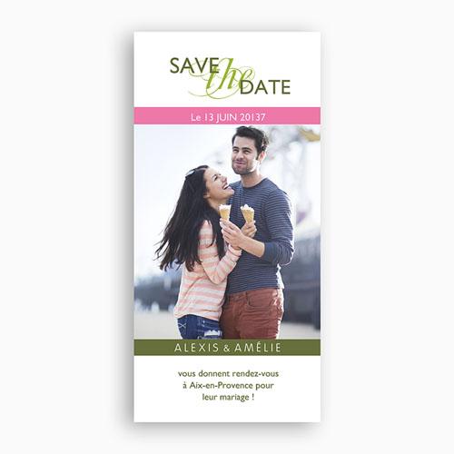 Save-The-Date - Thème Printanier 2542