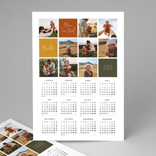 Calendrier Monopage - Première de l'Année 2567