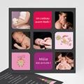 Première carte de voeux de bébé - 3