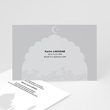 Remerciements Décès Musulman - Remerciements décès musulman - 3
