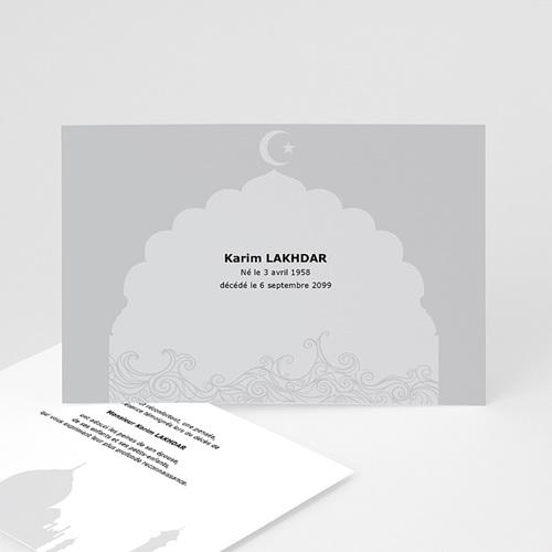 Remerciements Décès Musulman - Remerciements décès musulman 3154