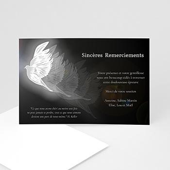 Remerciements Décès Universel - Condoléance - 3