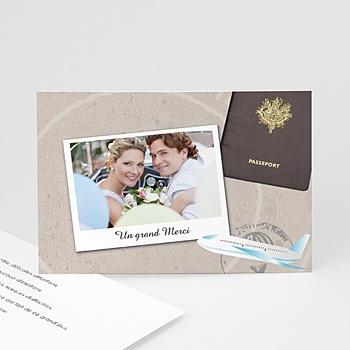 remerciement mariage original carte personnalis e. Black Bedroom Furniture Sets. Home Design Ideas