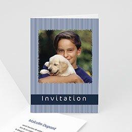Faire-part Communion Garçon - Communion Garçon - 3