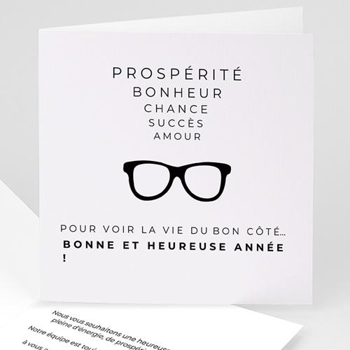 Cartes de Voeux Professionnels - A vos lunettes 35107