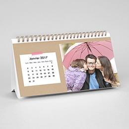 Calendrier de Bureau - Souvenirs, souvenirs - 1