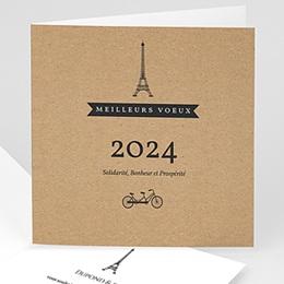 Cartes de Voeux Professionnels - Paris Kraft - 1