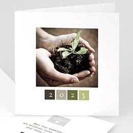 Cartes de Voeux Professionnels - Protégeons la nature - 1