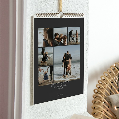 Calendrier Photo 2017 - Anthracite 35722