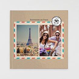 Livre-Photo Carré 30 x 30 - Carnet de voyage - 1