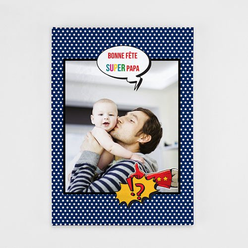 Livre-Photo A4 Portrait - Mon papa, my Hero 35863