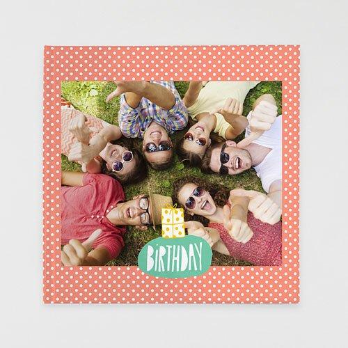 Livre-Photo Carré 30 x 30 - Anniversaire Coloré 35865