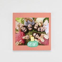 Livre-Photo Carré 20 x 20 - Anniversaire Coloré - 1
