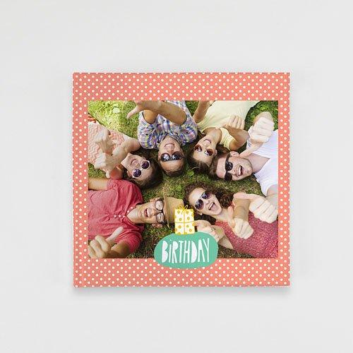 Livre-Photo Carré 20 x 20 - Birthday Colours 35866
