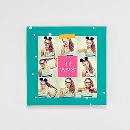 Livre-Photo Carré 20 x 20 - Anniversaire Flashy - 1