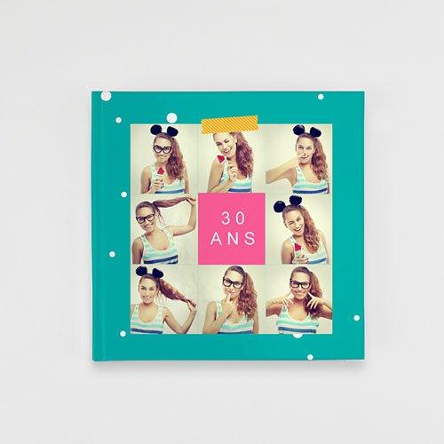 Livre-Photo Carré 20 x 20 - Pop Party 35868