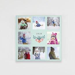 Livre-Photo Carré 20 x 20 - Floral - 1