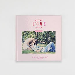 Livre-Photo Carré 20 x 20 - Saint Valentin - 1