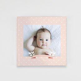 Livre-Photo Carré 20 x 20 - Un monde rose - 1