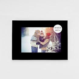 Livre-Photo A5 paysage - Luxe noir - 1
