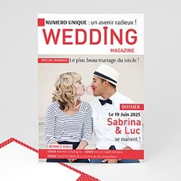 Faire-Part Mariage Personnalisés - Wedding Magazine - 0