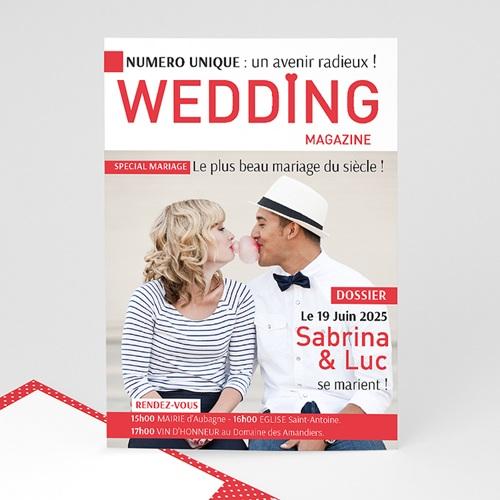 Faire-Part Mariage Personnalisés - Wedding Magazine 36597