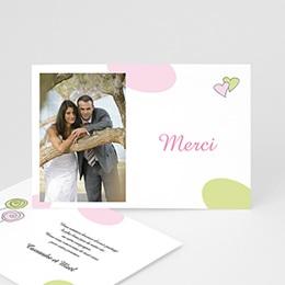 Carton Invitation Personnalisé - Mariage tons Pastel - 3