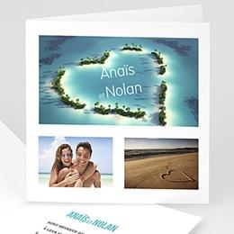 Faire-Part Mariage Personnalisés - Voyage de Noces - 3
