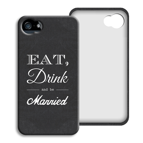 Coque Iphone 4/4s personnalisé - Be Married 40412
