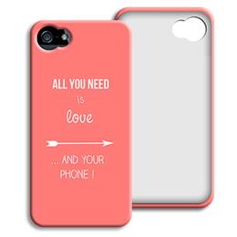 Accessoire tendance Iphone 5/5s  - je t aime + que - 0
