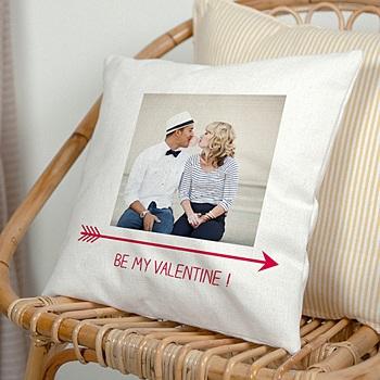 Coussin personnalisé - Be my Valentine - 0