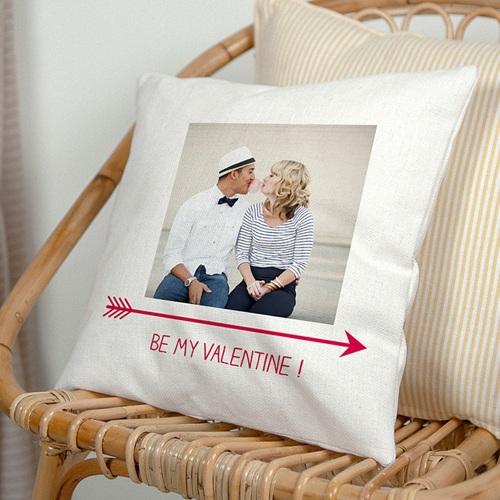 Coussin personnalisé - Be my Valentine 40469